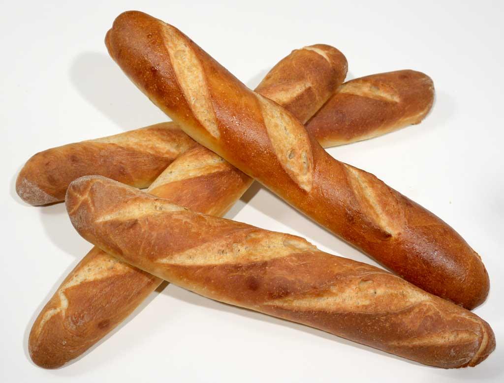 Bread Baking Technique #11 - Bakery Bread - french bread, baguettes ...