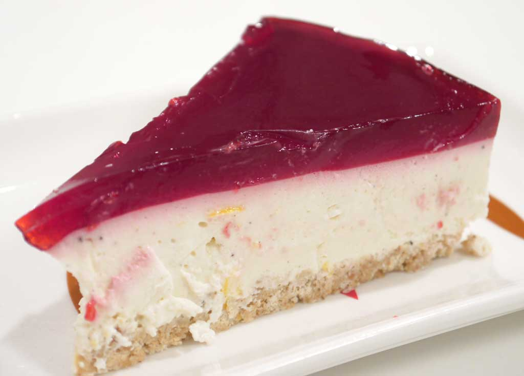 No Bake Cheese Cake With Gelatin Topping The Easiest Version