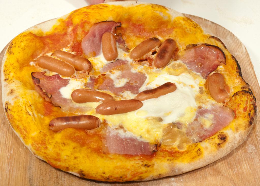 hjemmelavet pizza topping